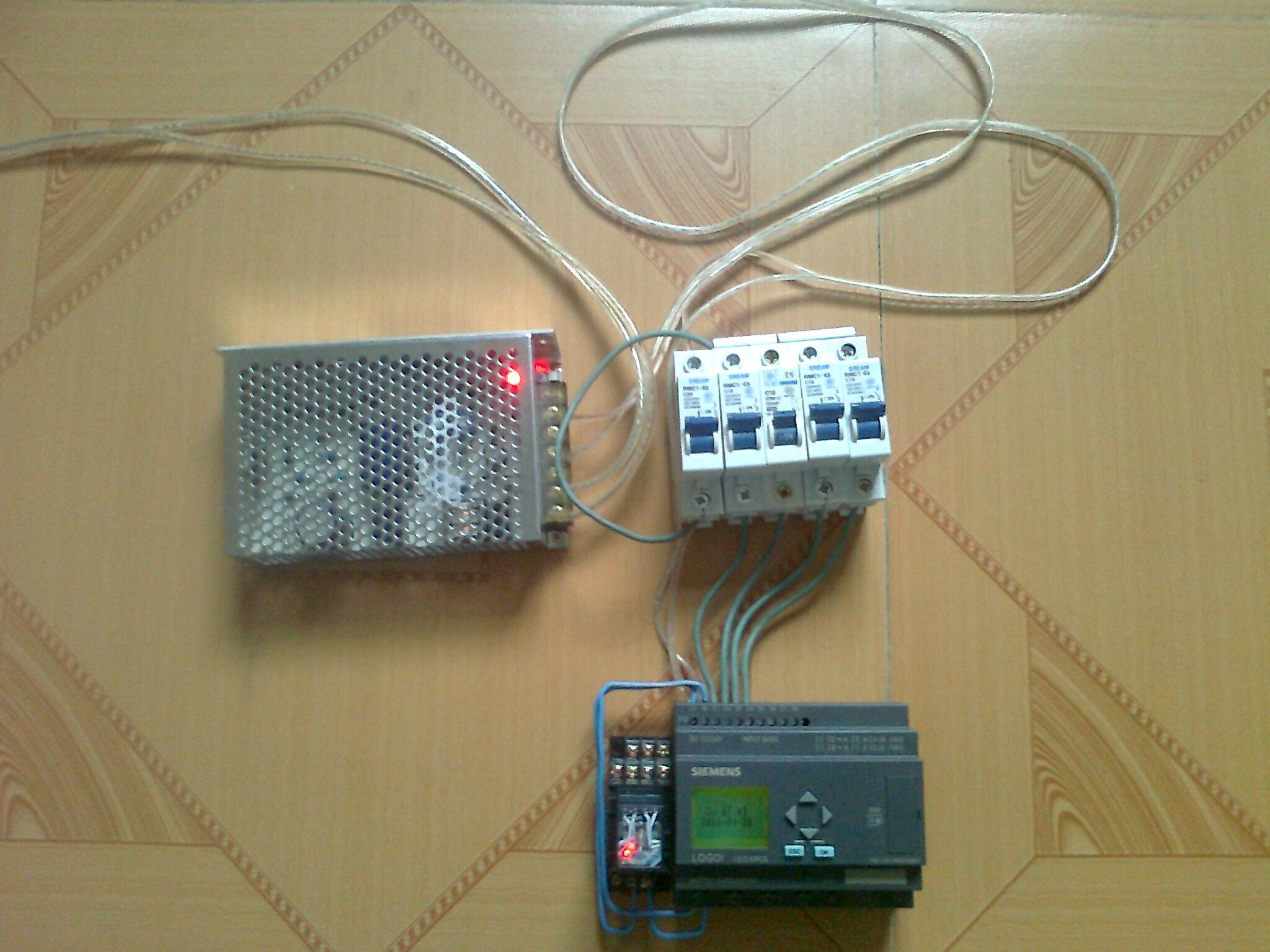 简绘百合子房横切图-LOGO操作比较简单,与PLC相比增加了键盘直接编程的好处
